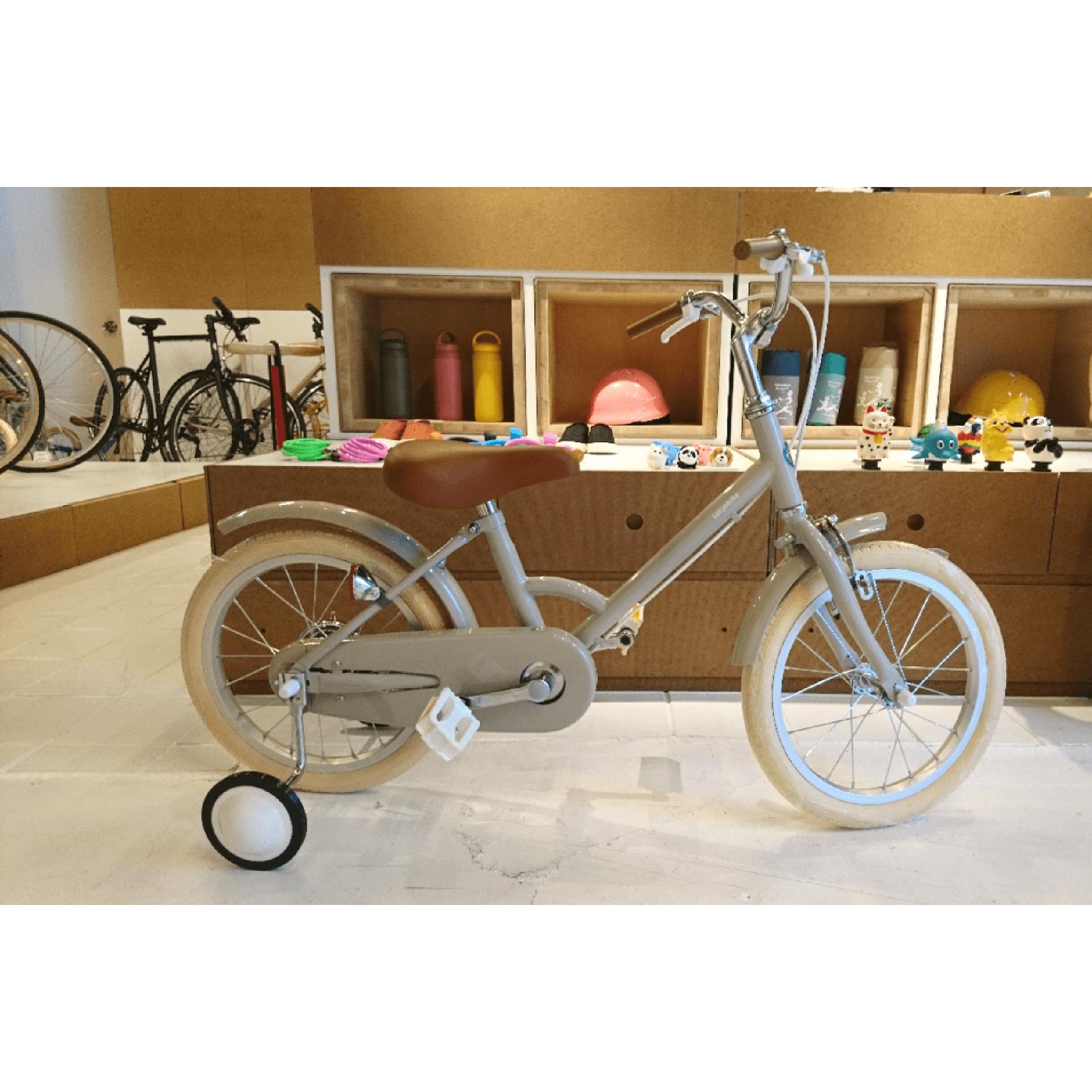 キッズバイクlittle tokyobike試乗自転車