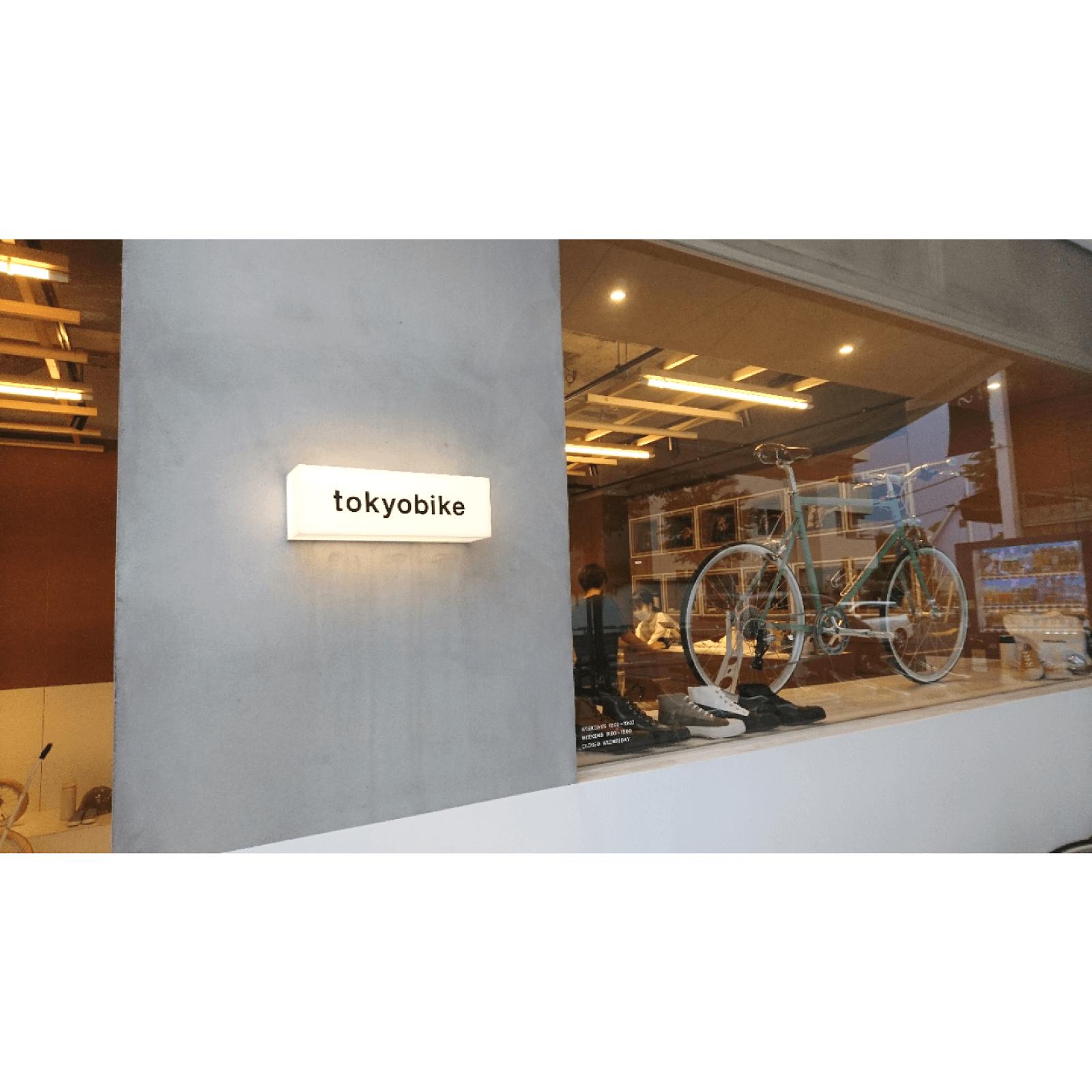 吉祥寺の東京バイク店頭