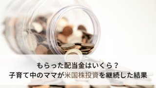 米国株2年目の配当金生活経過報告